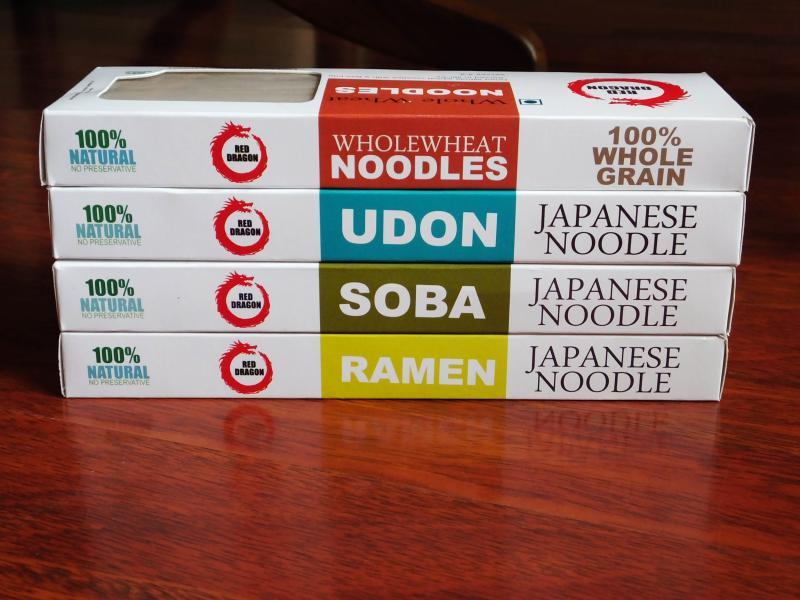 Introducing Japanese noodles